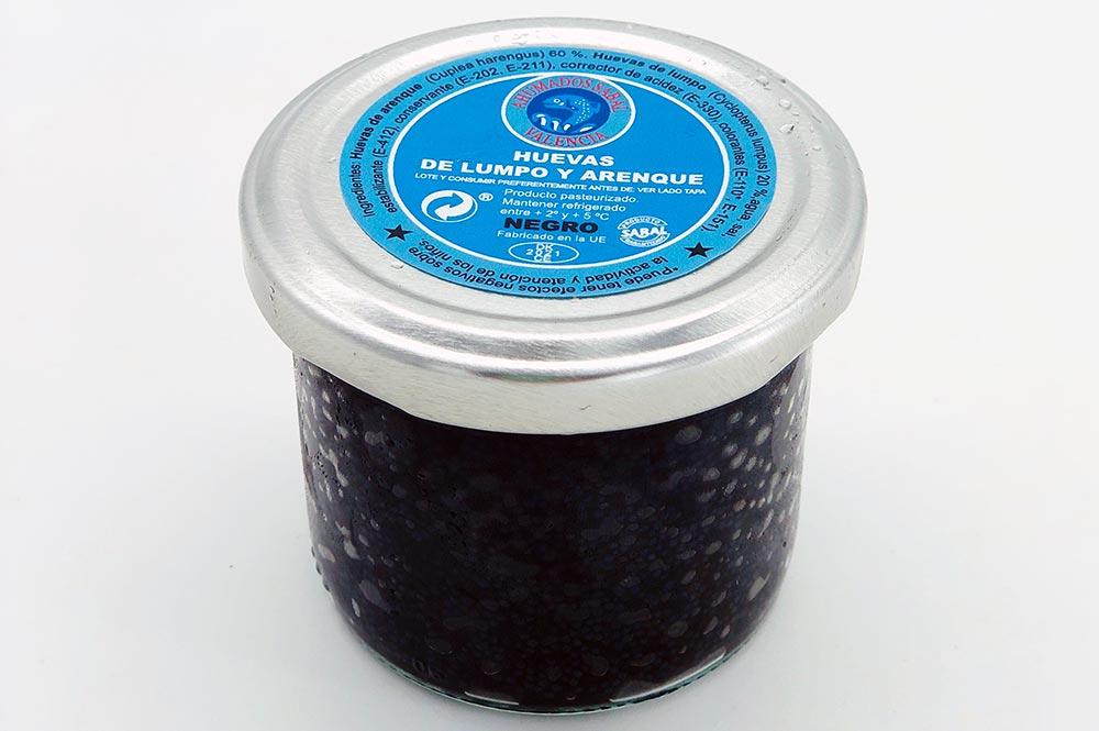 Marcopesca Import - Ahumados Huevas de Lumpo negra