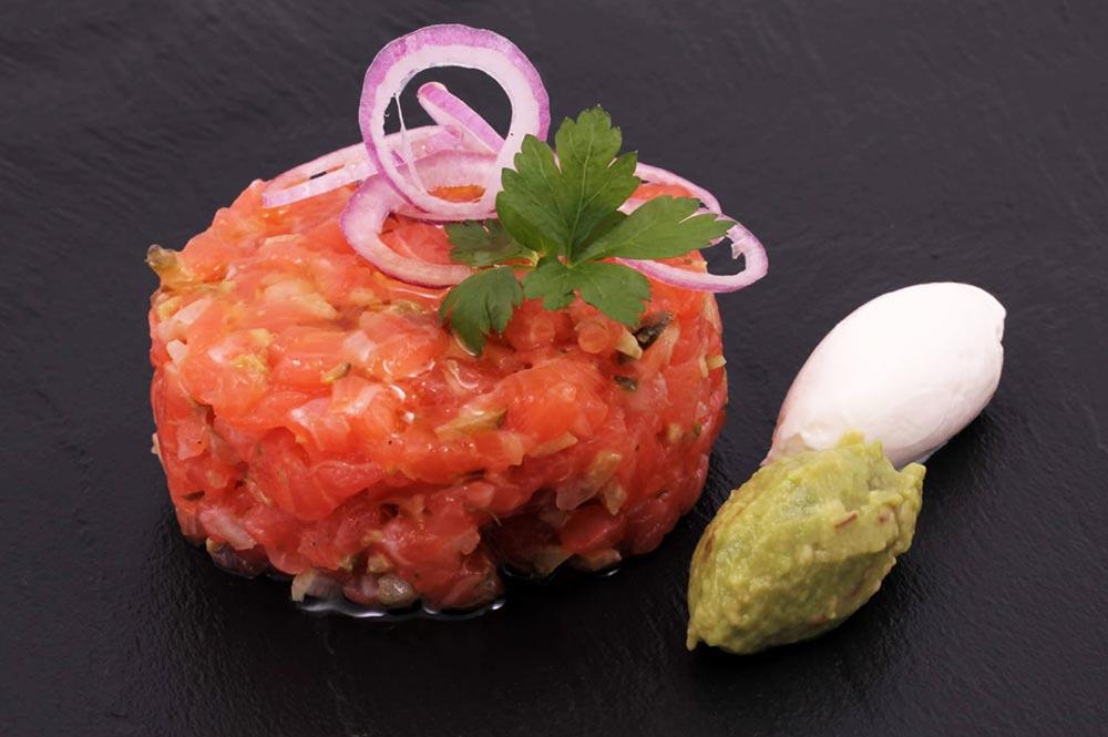 Marcopesca Quinta Gama Tartar de salmón