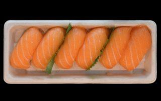Marcopesca Sushi nigiri salmón