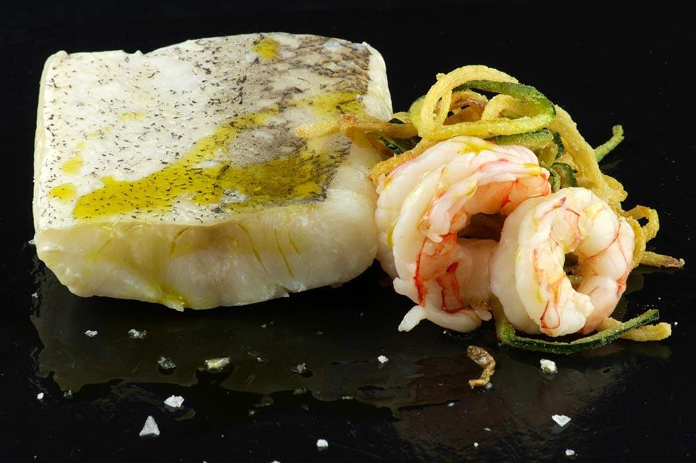 Marcopesca pescado y camarones