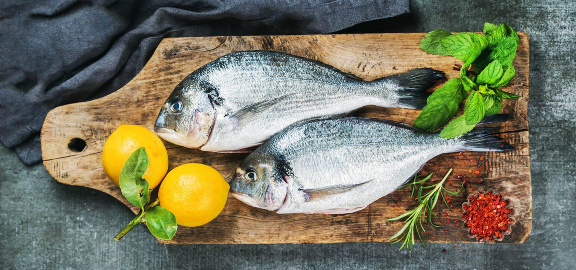 Marcopesca pescado y limones